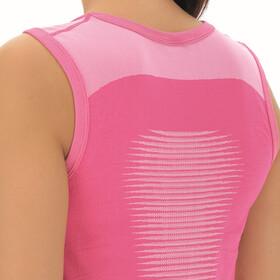 UYN Marathon Sleeveless Shirt Women, magenta/white